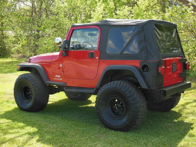 97 06 jeep wrangler soft top with tinted windows ebay. Black Bedroom Furniture Sets. Home Design Ideas