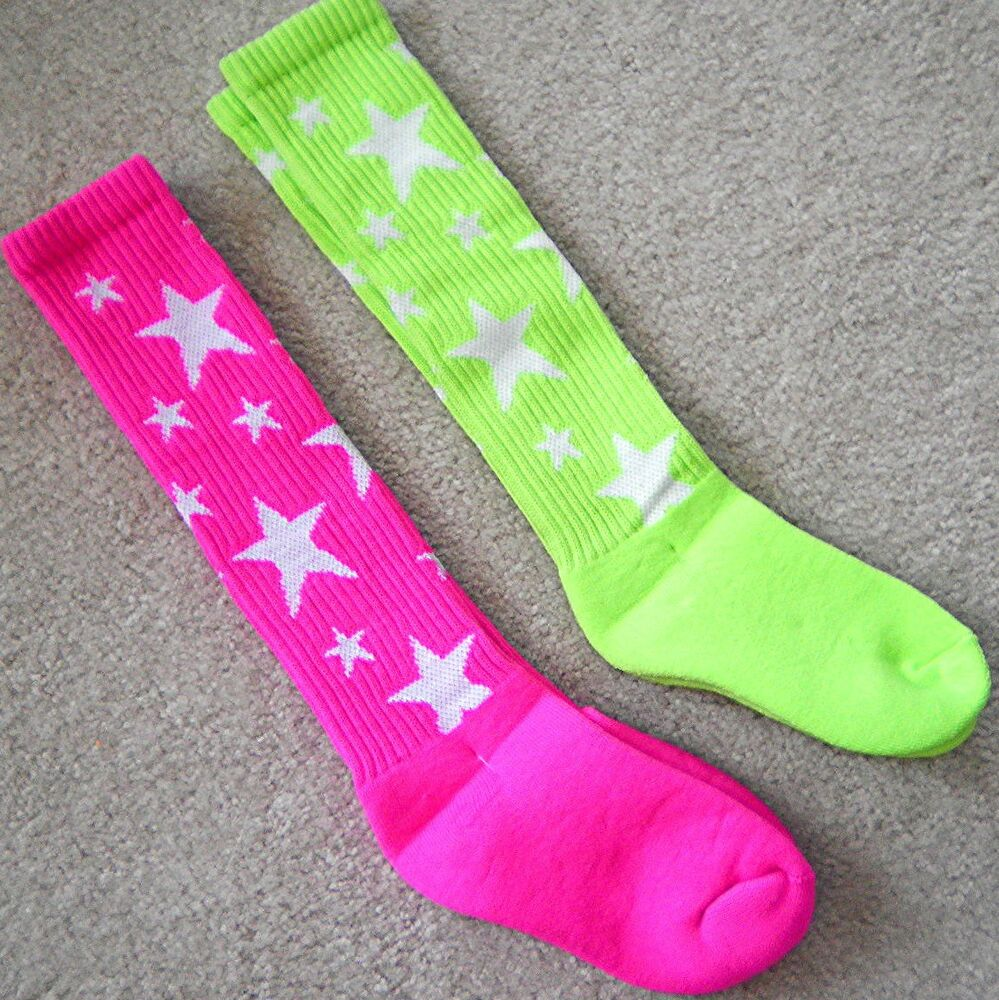 FOMANN Soccer Sports Team Socks, various size and color for Children, Teens and warmongeri.ga 4 pair wholesale socks are perfect for soccer,baseball,football,hockey,volleyball, running and other sports. ~Wild!~ Girls ANIMAL PRINT Sports Soccer Softball Volleyball SOCKS NWT!