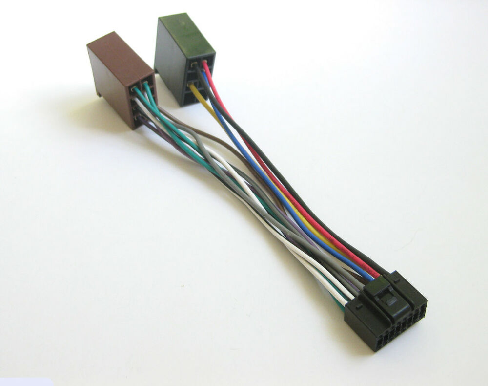 16 Pin Wiring Harness Kenwood : Kenwood pin wire harness for krc kdc