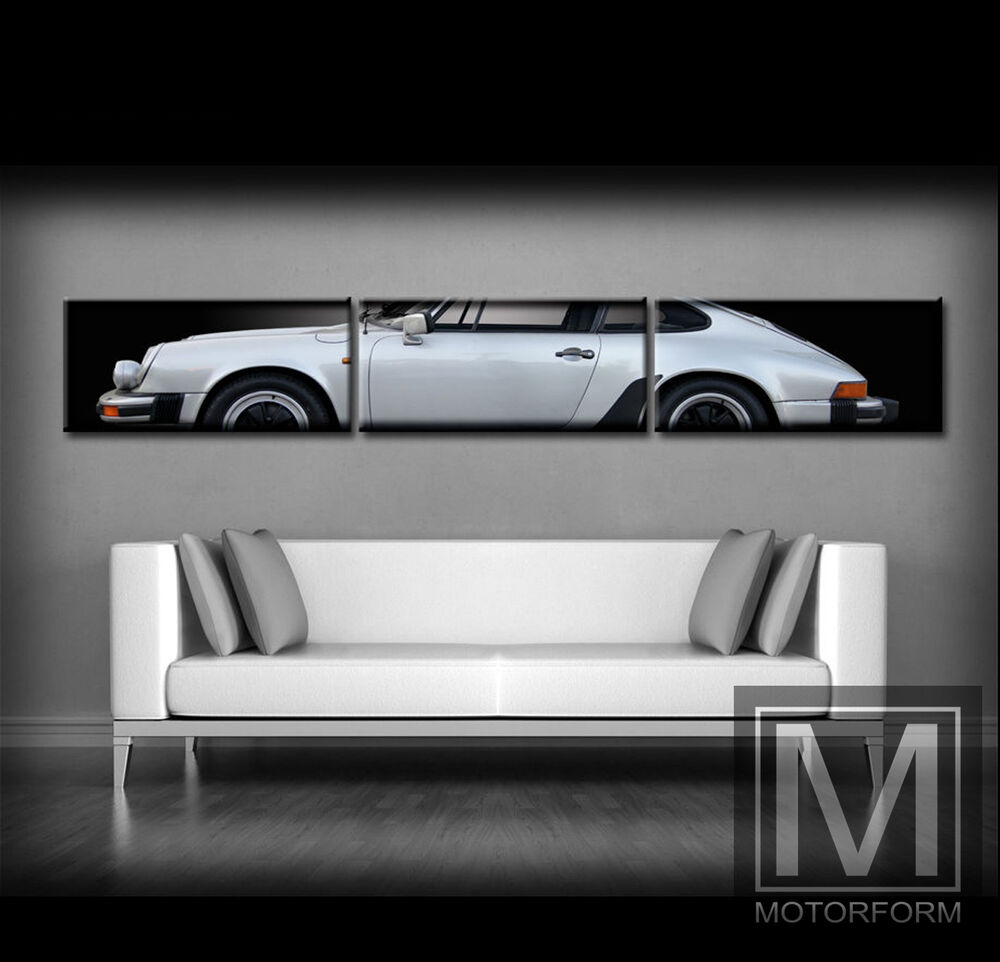 porsche 911 carrera g modell leinwand mit keilrahmen bild poster 2 50m breit ebay. Black Bedroom Furniture Sets. Home Design Ideas