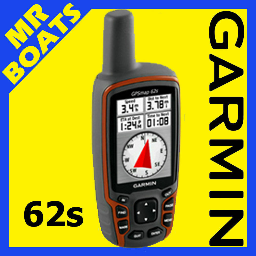 GARMIN GPSMAP 62S Handheld COLOUR MAPPING GPS BRAND NEW ...