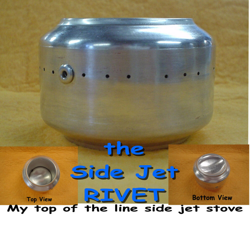 Backpacking Alcohol Stove Rivet Side Jet Alcohol Stove