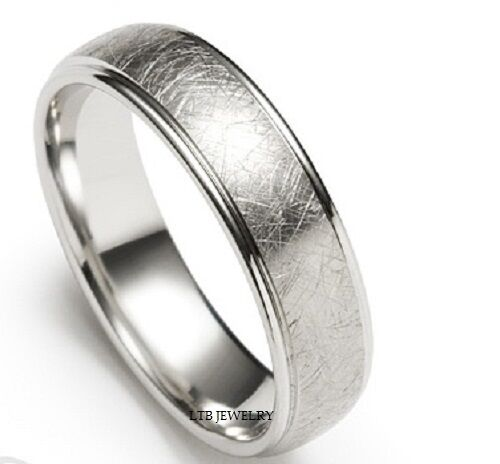 950 platinum mens wedding band ring 6mm ebay