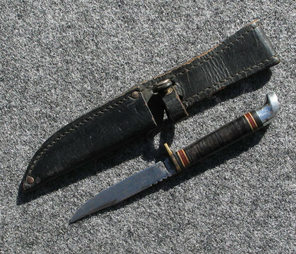 Western Bird And Trout Knife Great Condition L48b Ebay