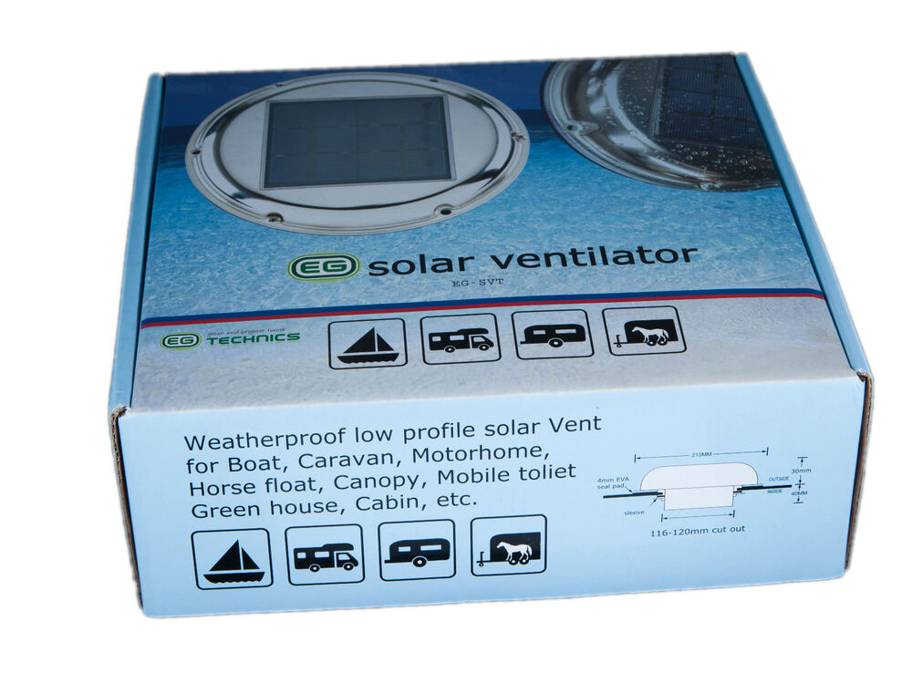 Day Night Solar Powered W 1 Battery Attic Roof Exhaust Fan