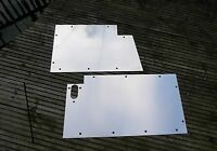 Land Rover Series 1 Front  Floor Plates Panels 1954-58  86, 88, 107, 109  inch
