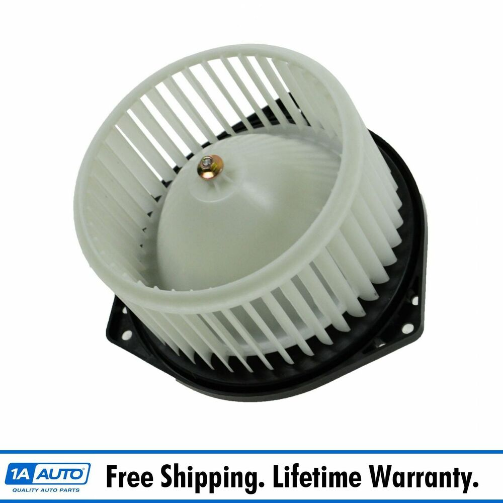 Interior heater blower motor w fan cage new for 03 07 for Home ac blower motor replacement cost