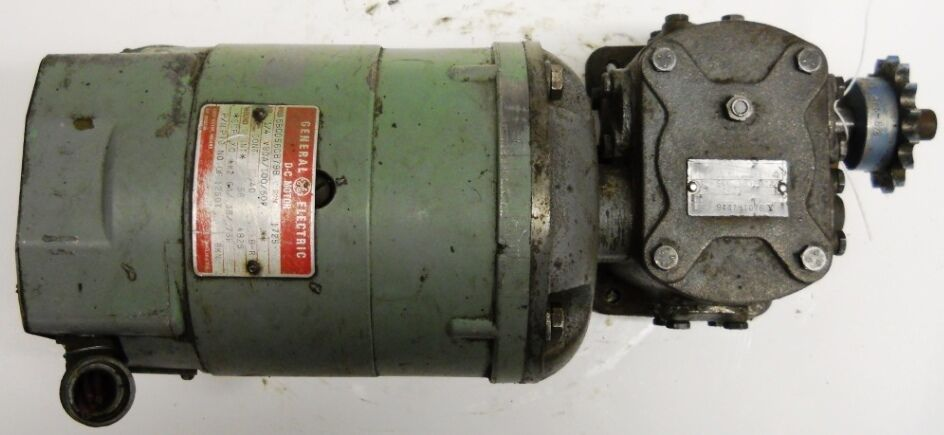 General electric dc motor 5bcd56cb79 w sterling power for Ge motors industrial systems