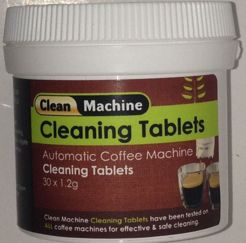 Clean Machine Coffee Machine Cleaning Tablets eBay