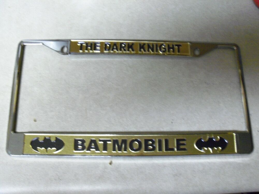 Car Bumper Guard >> Batman License Plate Frame Brand New! | eBay