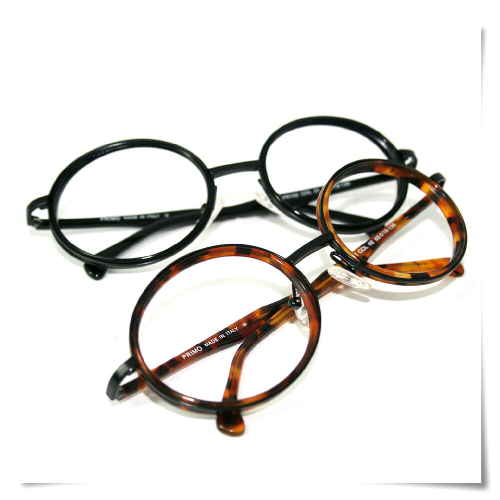 Large Frame Retro Reading Glasses : Primo Large Round Retro High Quality Italy Frame Reading ...