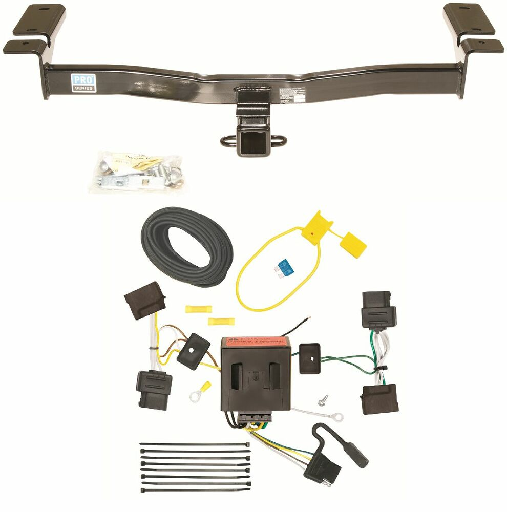 Ford edge trailer hitch kit wiring harness