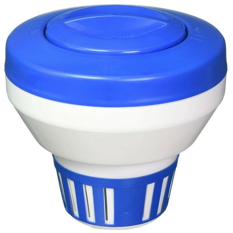 Floating 1 or 3 chlorine tablet dispenser for swimming pool ebay for Chlorine free swimming pool systems