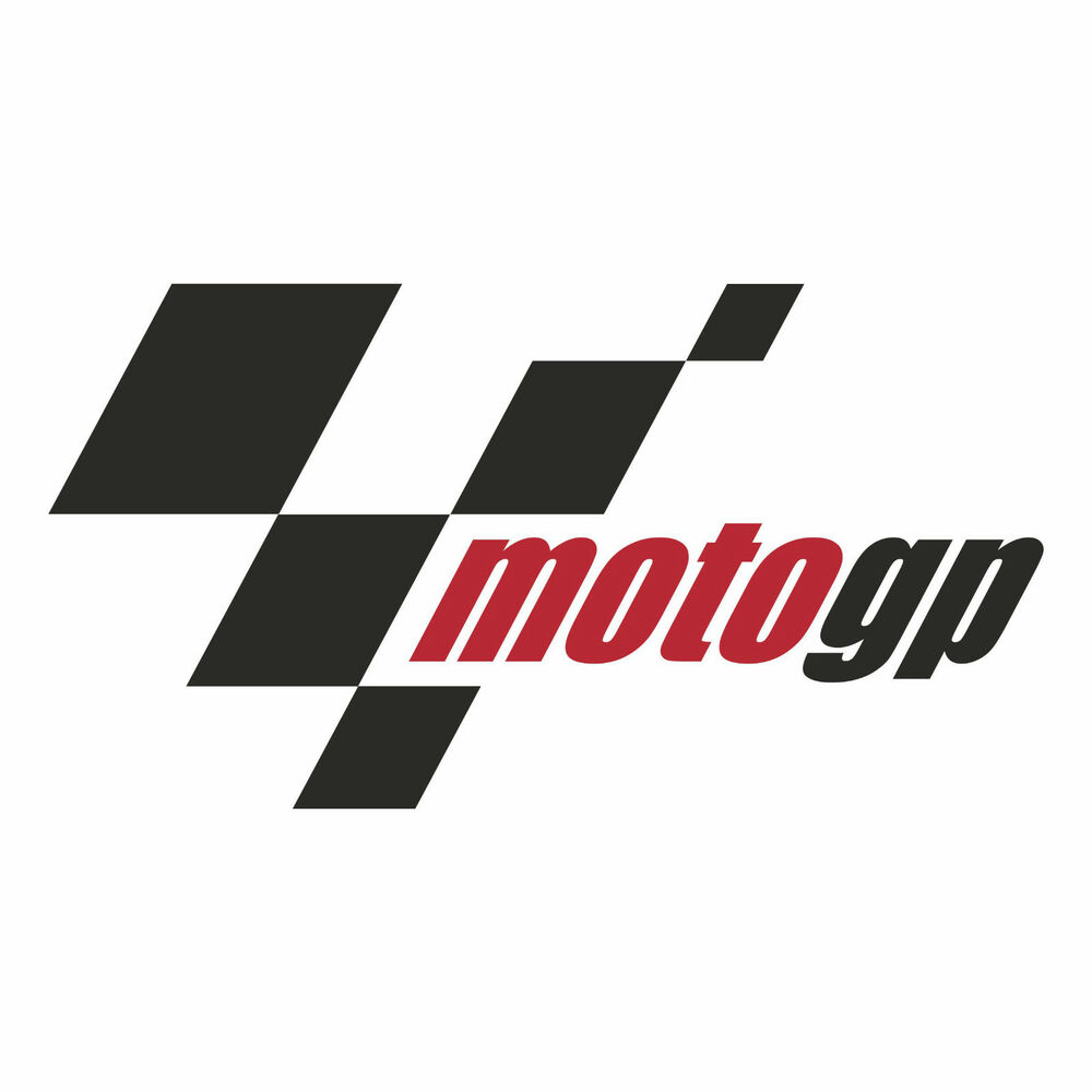Moto Gp Logo Decal Sticker Choose Size Ebay
