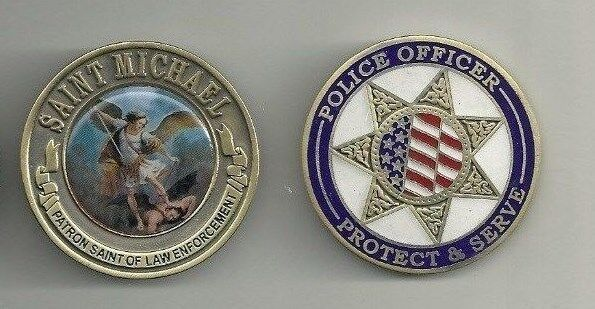 Saint Michael Patron Police Officers Protect And Serve 1