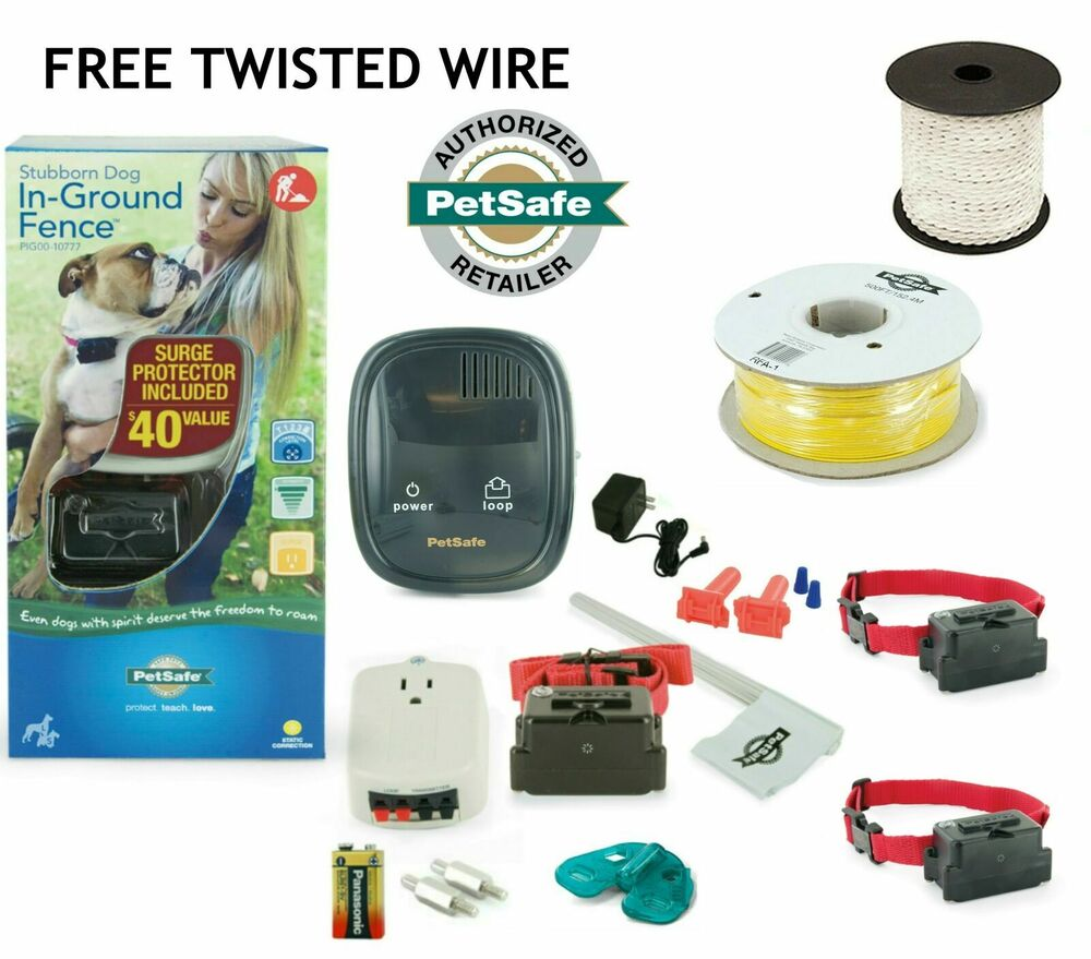 Petsafe Stubborn In Ground Electric Dog Fence 3 Big Dogs