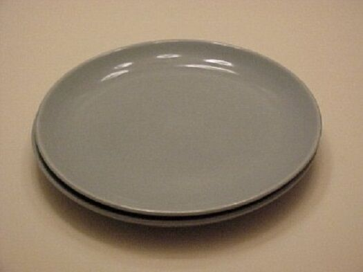 Iroquois China Casual Blue Dinner Plate Set EBay