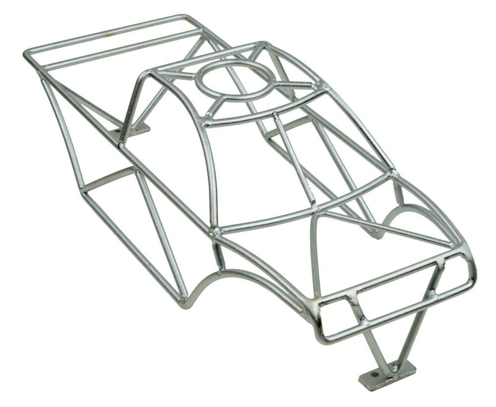 bead blasted chrome roll cage fits traxxas stampede vxl
