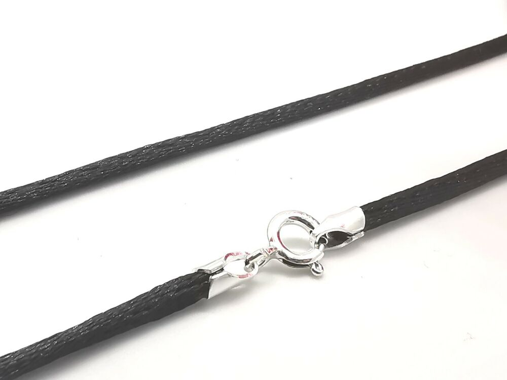 black silk cord how to wear