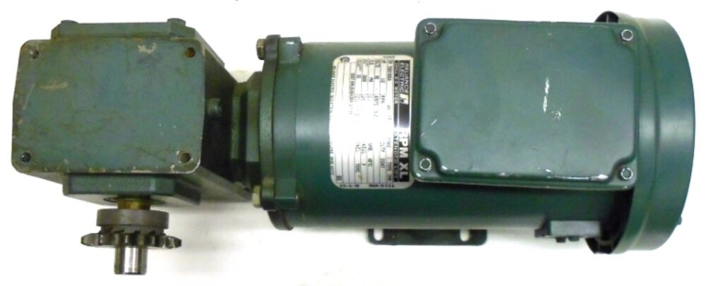 Details About Reliance Electric Dc Motor T56s1005a Grove Flexaline Bmq218 3 Gear Box