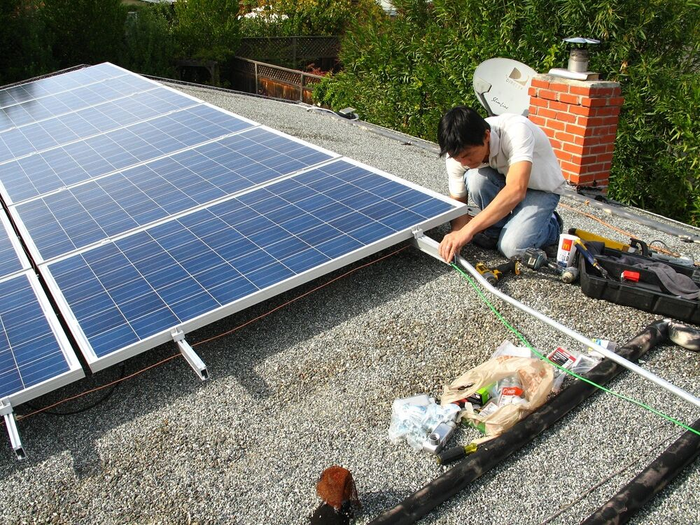 Solar Panel Mounting System For Metal Flat Roof For 2
