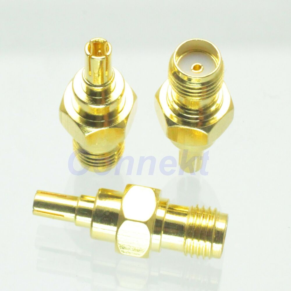 1pce sma female to crc9 male rf adapter connector for 3g. Black Bedroom Furniture Sets. Home Design Ideas