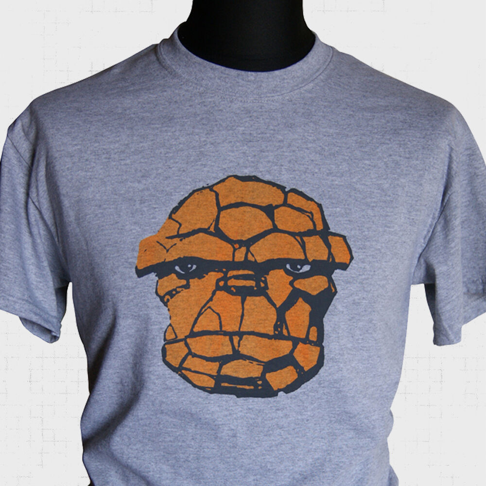 the thing ben grimm t shirt marvel fantastic four retro