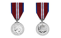 Swing Mounted, Official Queens Diamond Jubilee Miniature Medal and Ribbon, New