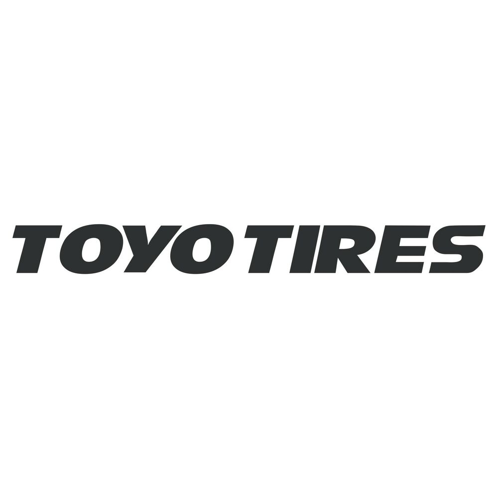 Toyo Tires Logo Decal Sticker Choose Size Color Ebay