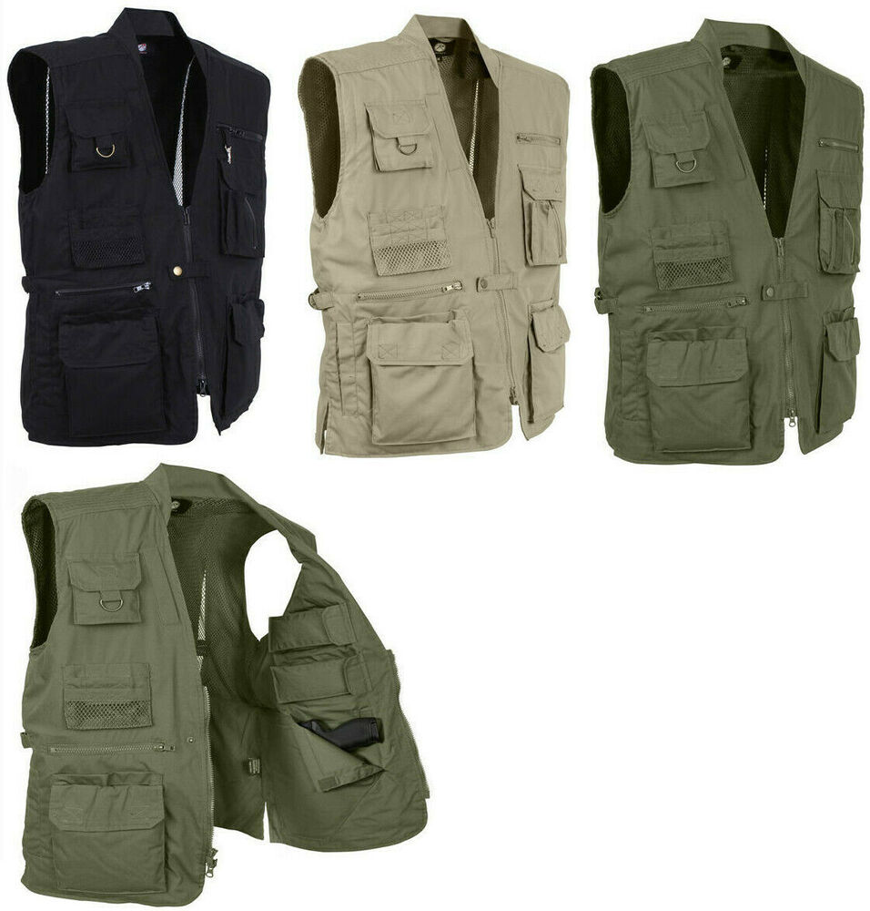 Multi Pocket Cargo Tactical Plainclothes Concealed Carry
