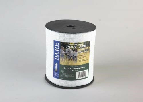 Usa Dare 1 2 Inch Poly Electric Fence Horse Tape 1312ft