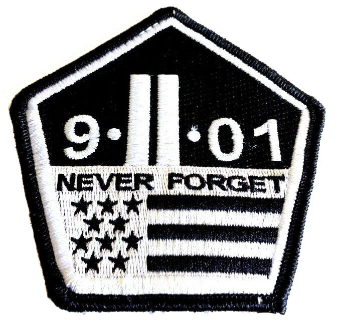 Never Forget 9 11 Patch September 11 Patches