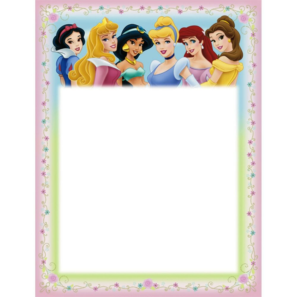 8 disney princess printable invitations birthday party supplies 8 disney princess printable invitations birthday party supplies invites