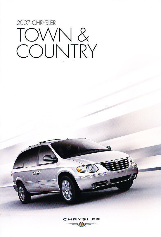 2007 chrysler town and country van 30 page sales brochure ebay. Black Bedroom Furniture Sets. Home Design Ideas