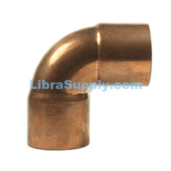 Bag of pc quot od copper fitting degree
