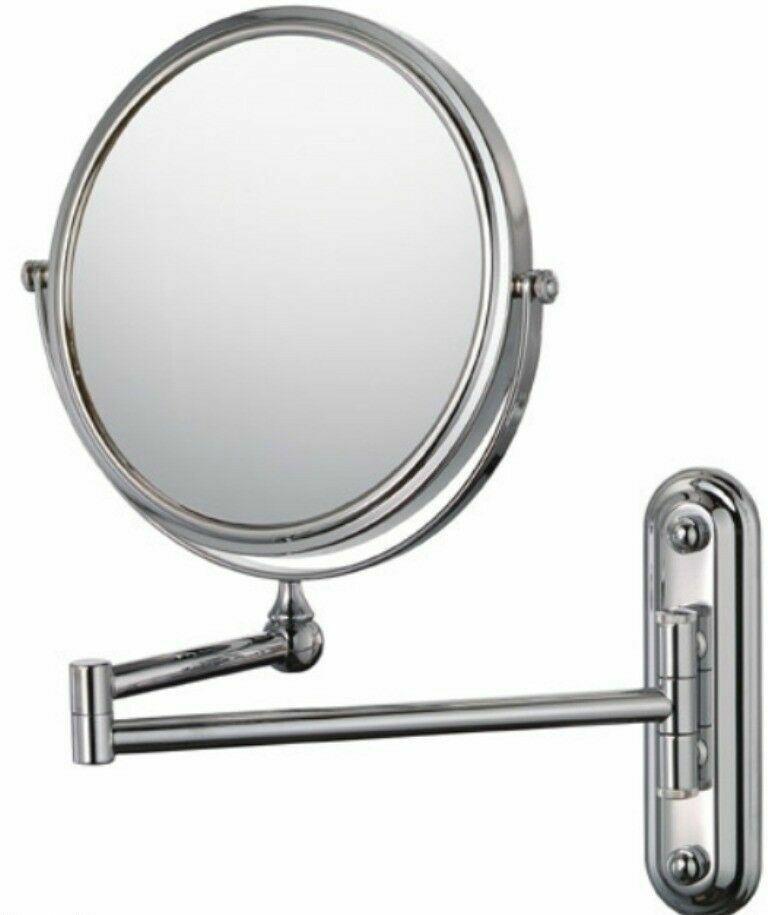 Kimball Young Bath Vanity 4x Magnification Wall Mounted Swing Arm Mirror New Ebay