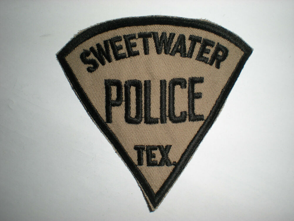 City Of Sweetwater Tx Police Department