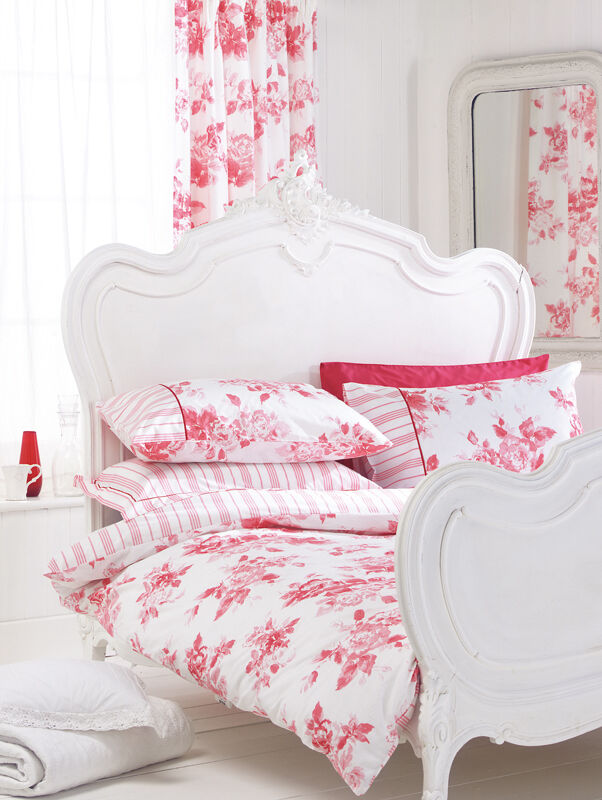 Helena Springfield Pink Floral Bedding Duvet Cover Or Curtains Etienne Ebay