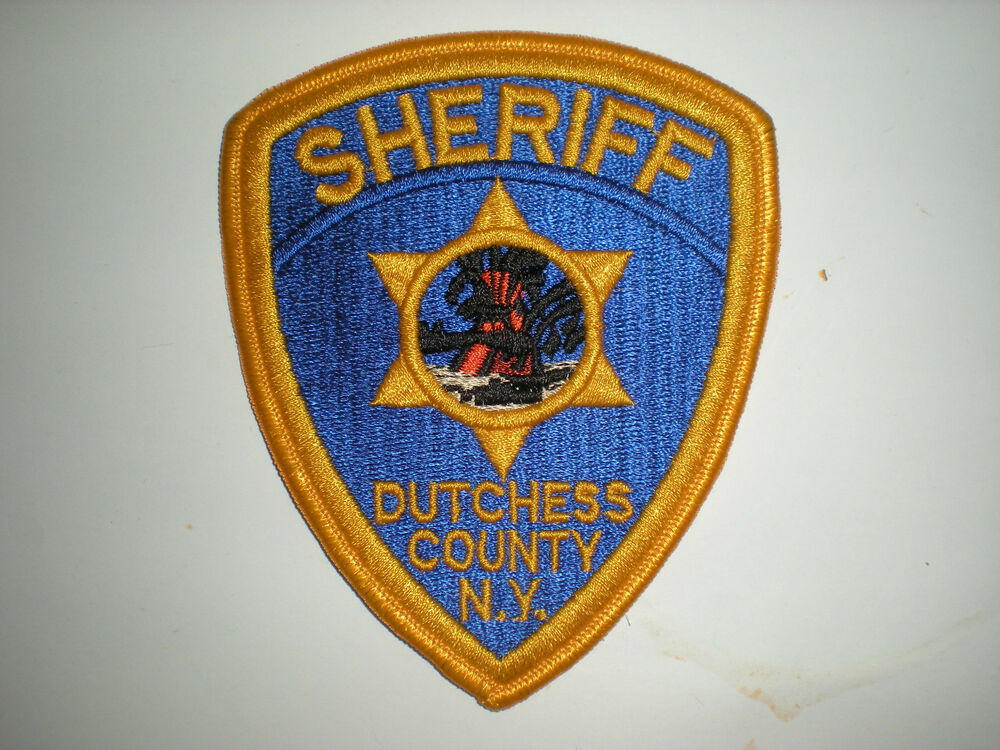 DUTCHESS COUNTY, NEW YORK SHERIFF'S DEPARTMENT PATCH | eBay