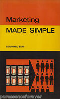 MADE SIMPLE: MARKETING (2nd EDITION) - B Howard Elvy (1977 Paperback)
