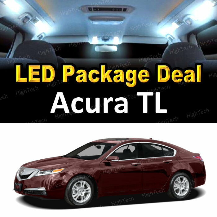 7 White LED Lights Interior Package Deal For 2004-2008