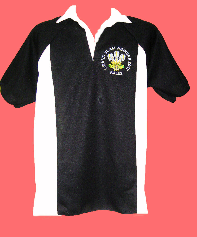 Wales Grand Slam 2012 Winners Rugby Style Shirt 6 Nations