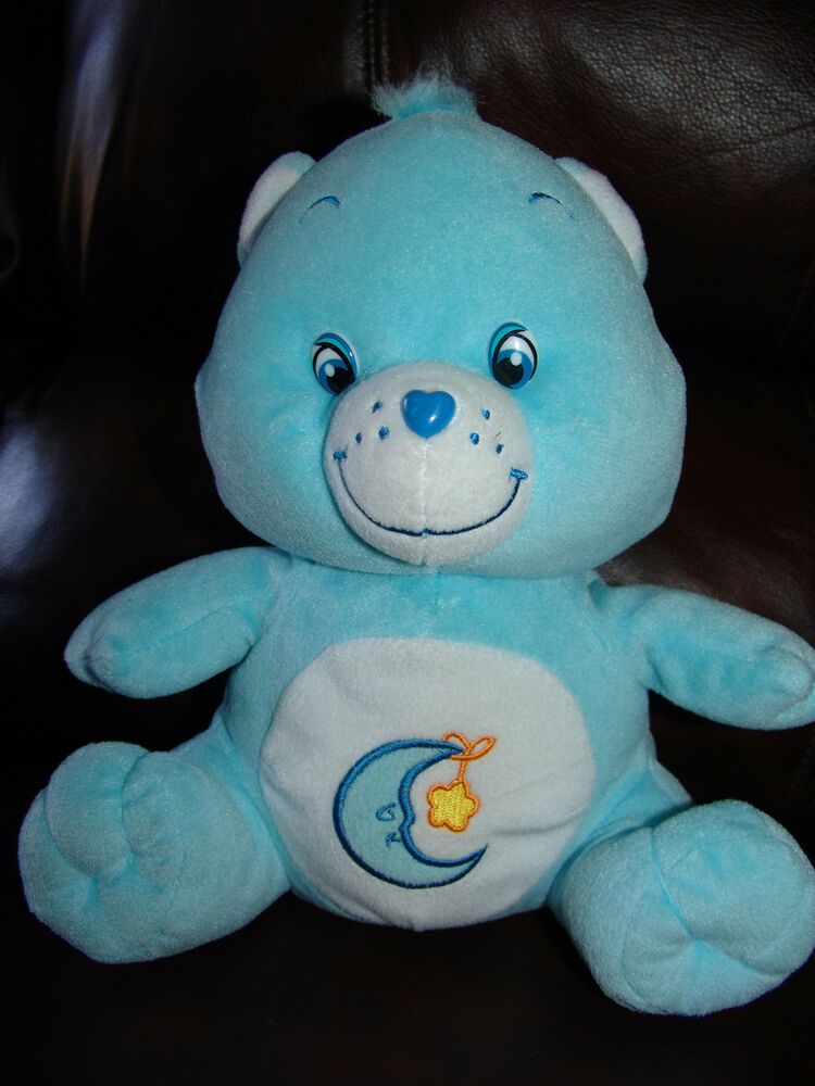 Care Bear Blue Bedtime Bear Plush Doll 10 1/2"