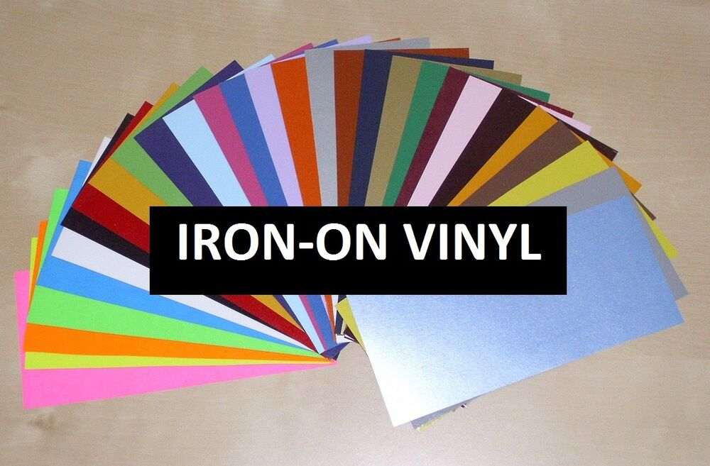Iron On Heat Transfer Vinyl Large 12 Quot X15 Quot Sheet For All