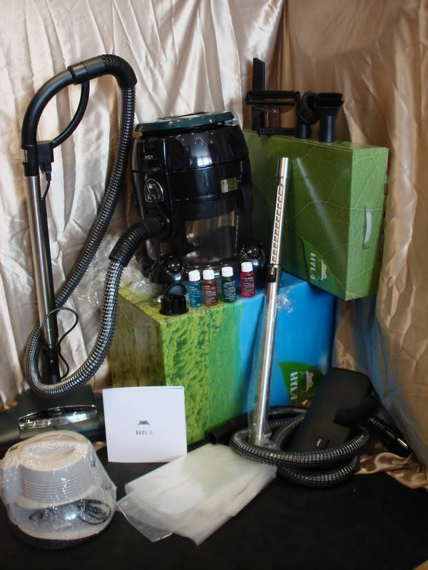 Hyla Nst Super Deluxe Vacuum Cleaner Package W Everything