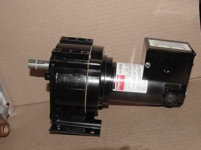 Dayton 1 20hp Industrial Dc Gear Motor 90vdc 35 1 51 Rpm Single Shaft Ebay