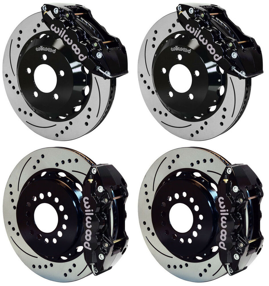 Wilwood Disc Brake Kit 05 11 Dodge Charger 300 14 Quot Drilled