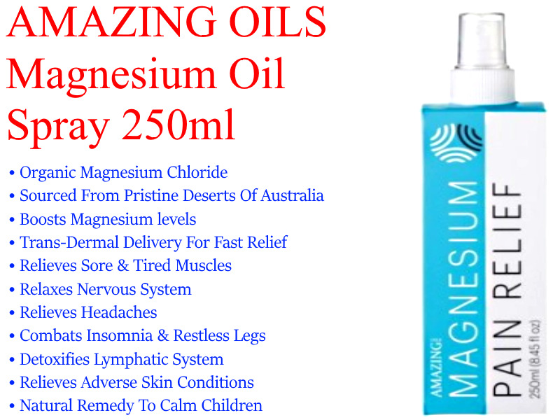 How to use magnesium oil spray