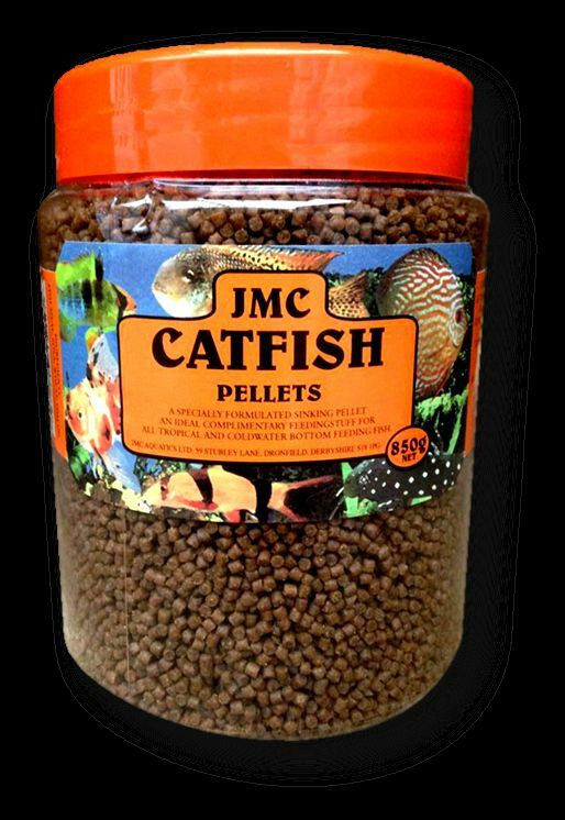 Jmc catfish pellets 850g bottom feeding fish food pleco for Bottom feeder fish list