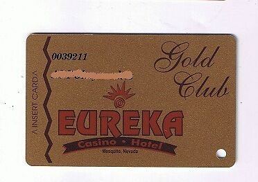 eureka casino gold club